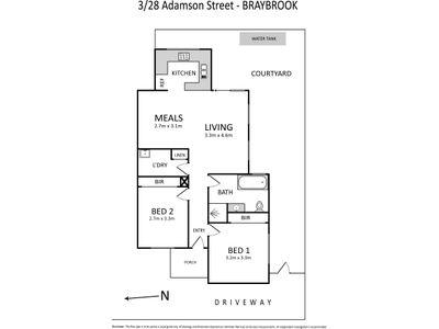 3/28 Adamson Street , Braybrook