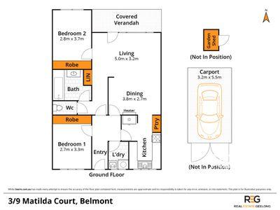13 / 9 MATILDA COURT, Belmont