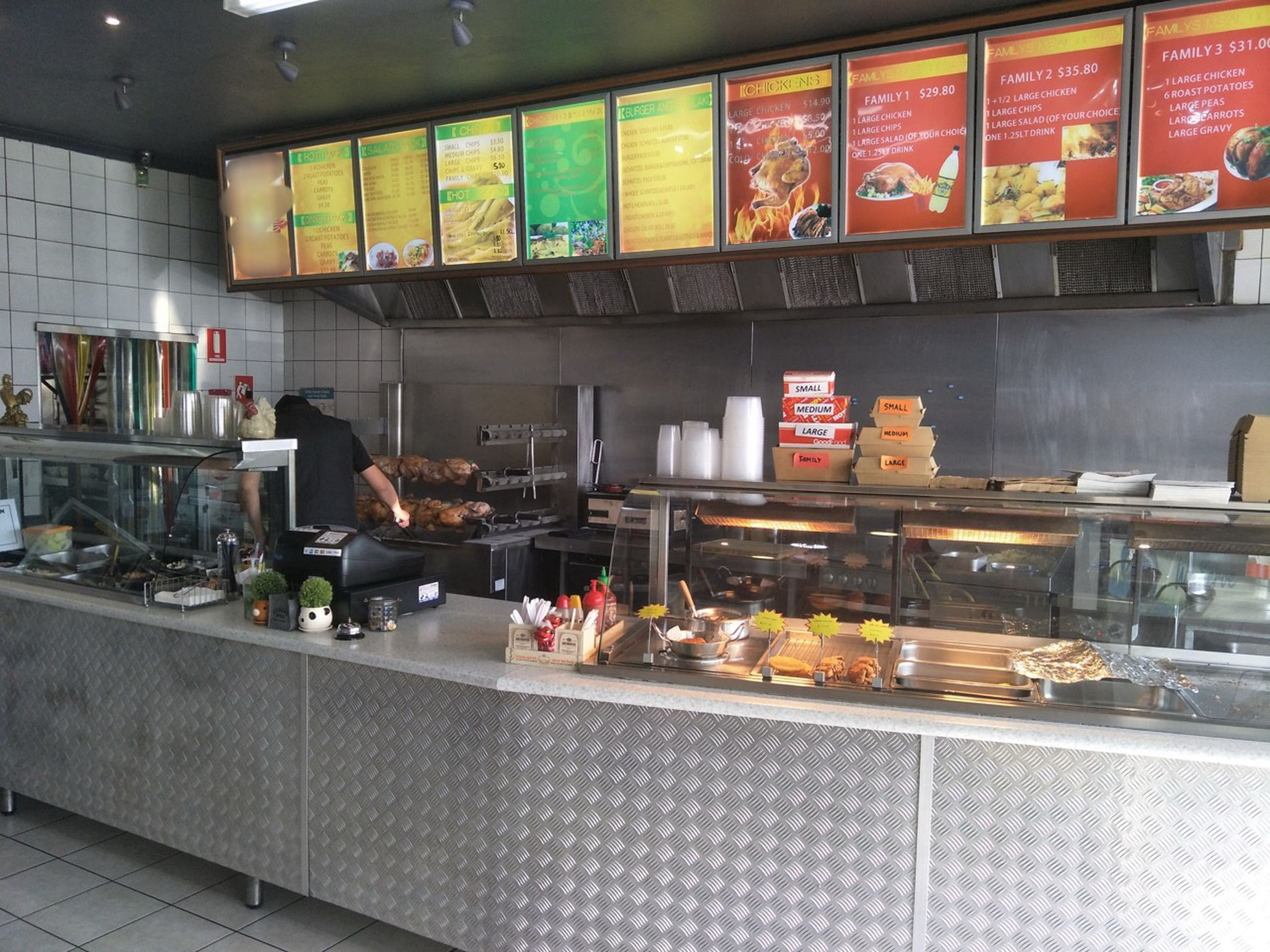 SOLD - Charcoal Chicken Shop for Sale, Only 5 Days trading