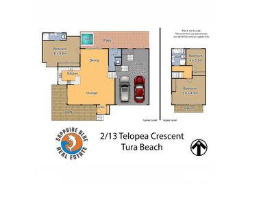 2 / 13 Telopea Crescent, Tura Beach