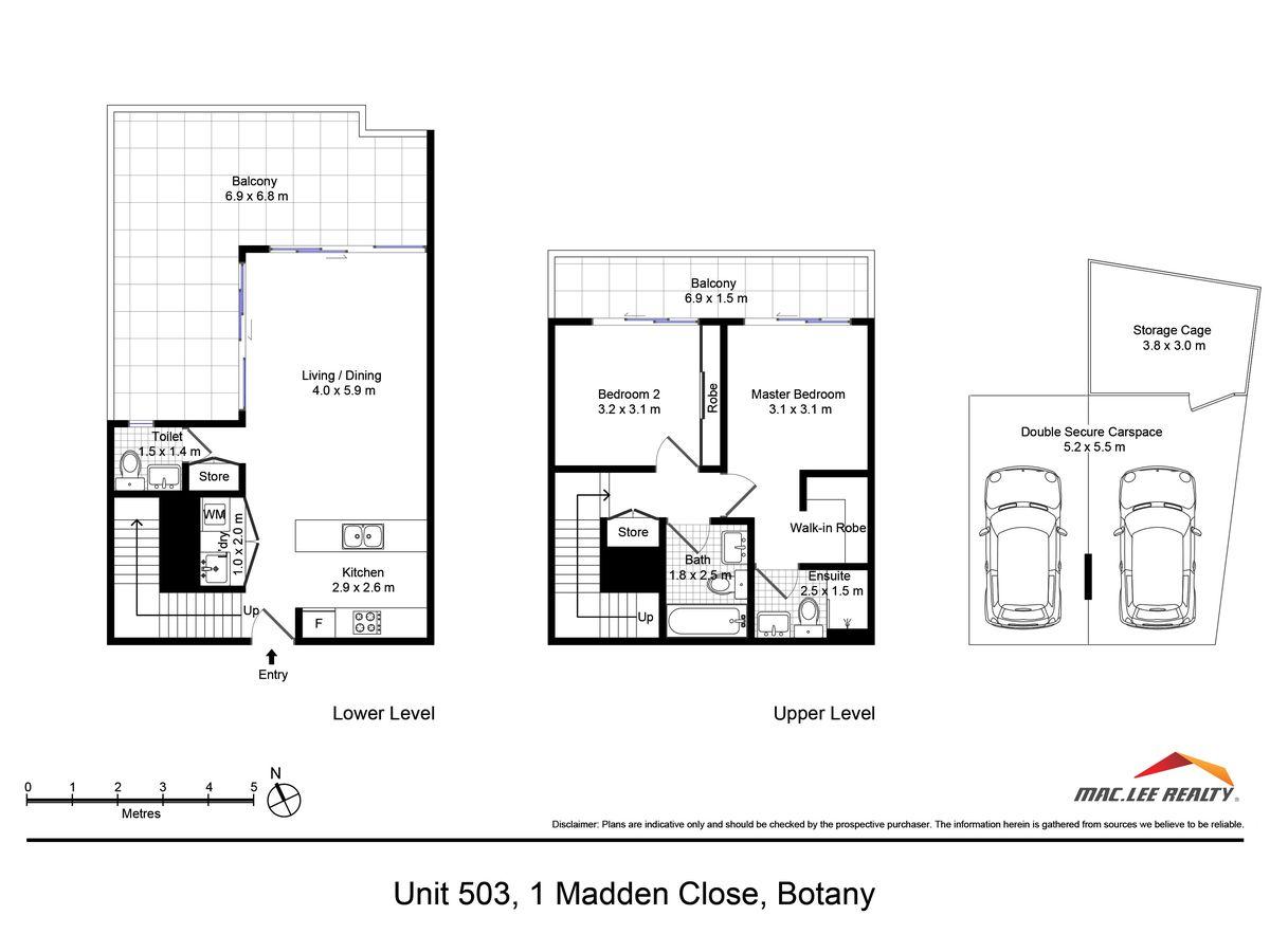 503 / 1 Madden Close, Botany