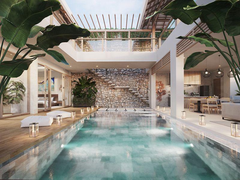 INDONESIA /  'SIWA Cliffs' 3 Bedroom Villa, Pengembur, Pujut, Central Lombok Regency  West Nusa Tenggara 83573, Indonesia,