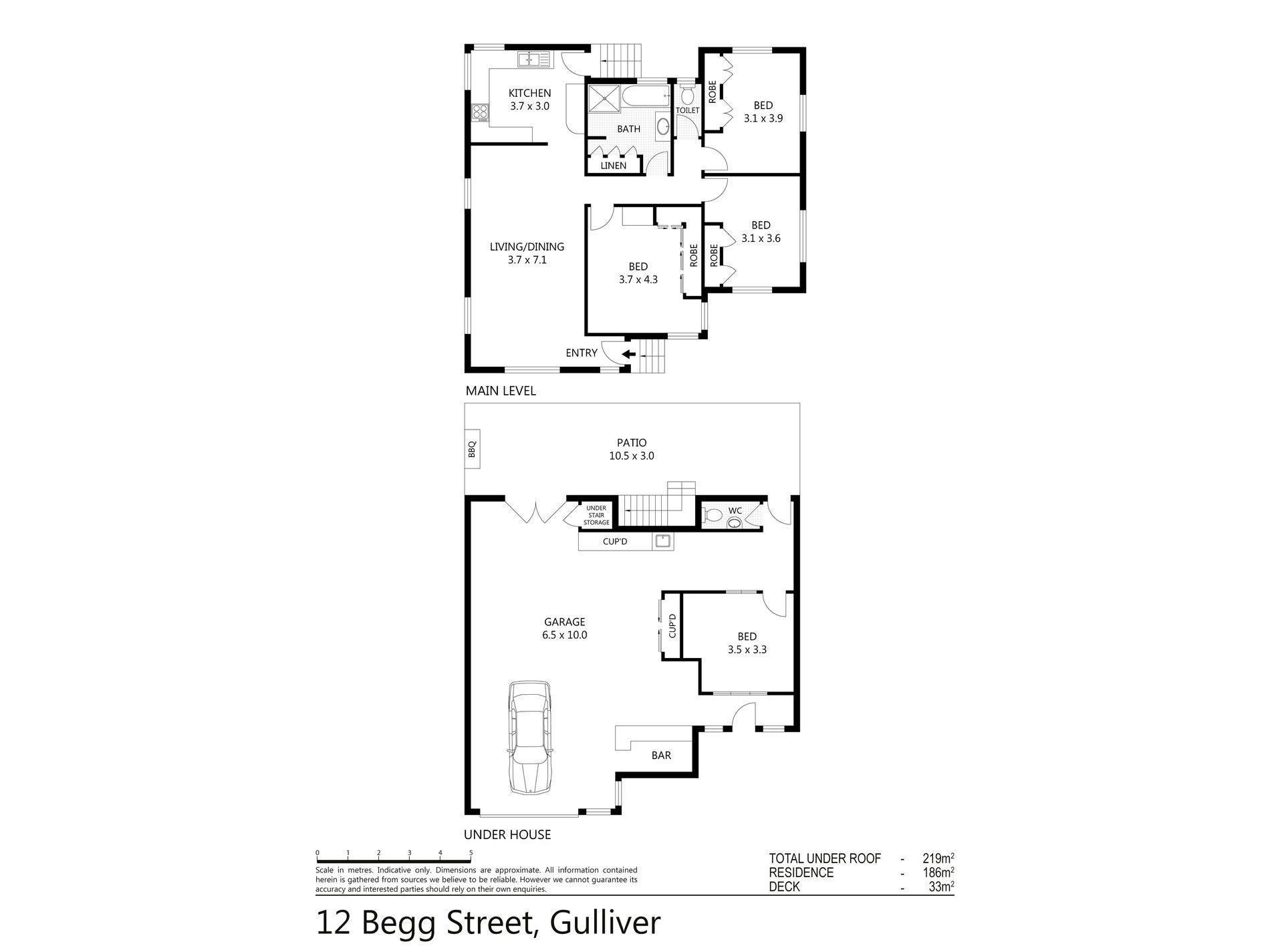12 Begg Street, Gulliver