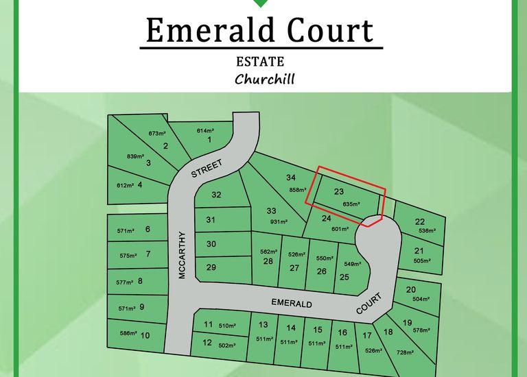 Lot 23 Emerald Court, Churchill