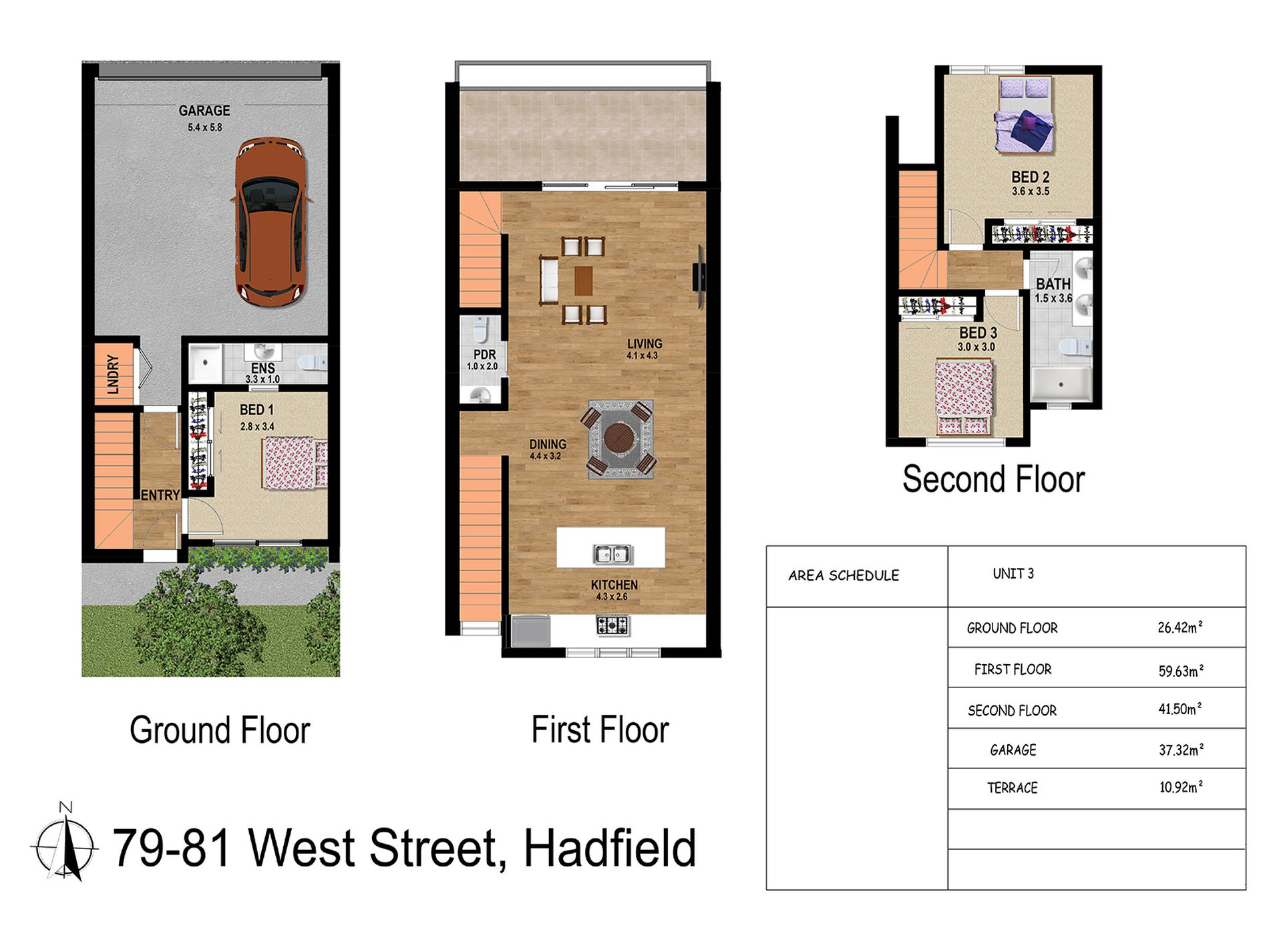 3 / 79-81 West Street, Hadfield