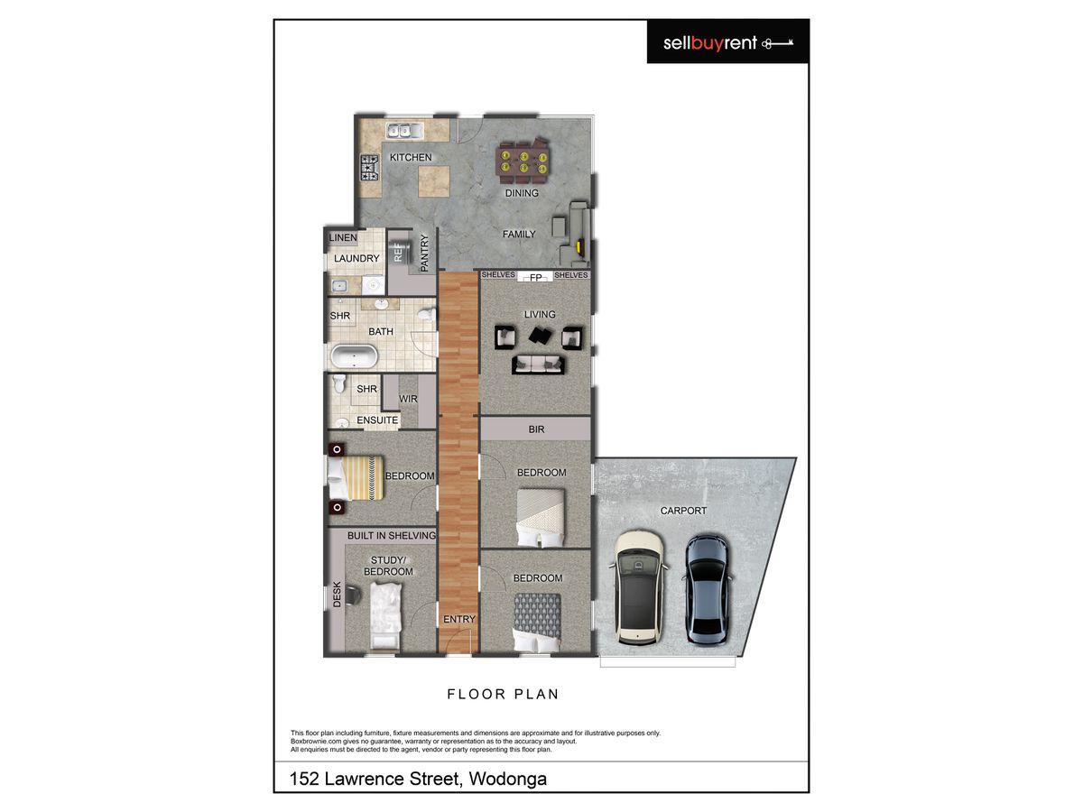 152 LAWRENCE STREET, Wodonga