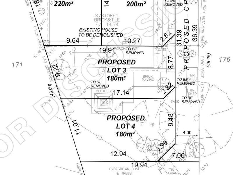 Lot 1, Proposed Lot 1-4 / 40 McManus Street, Wilson