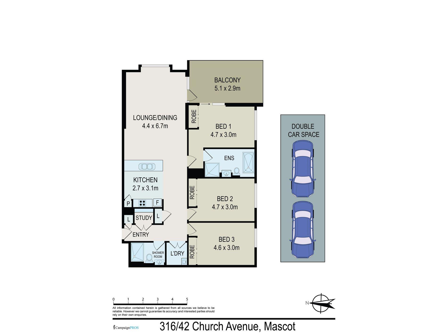 316 / 42 Church Ave, Mascot