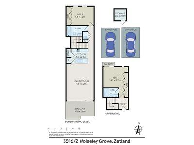 3516 / 2 Wolseley Grove, Zetland