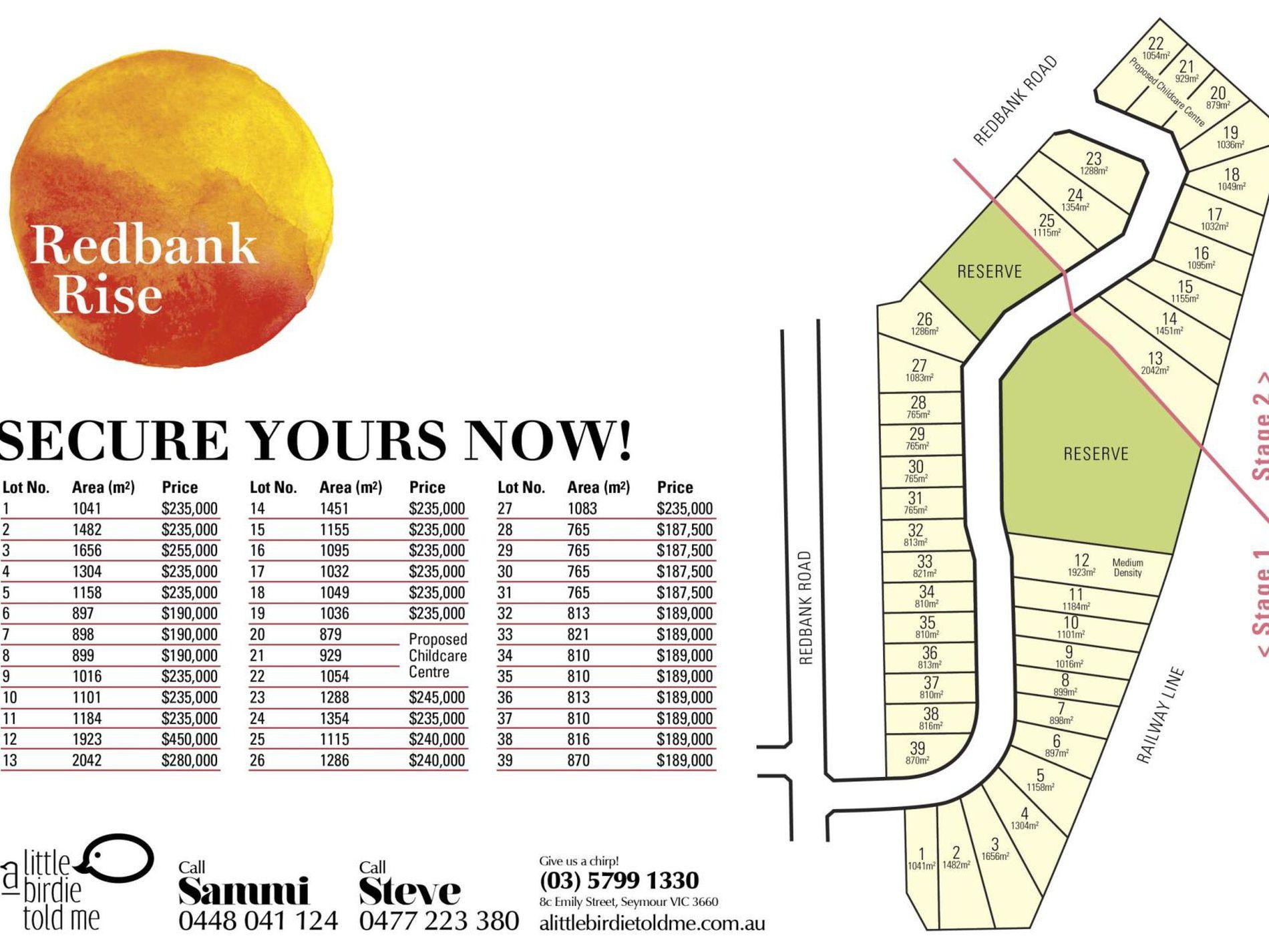 Lot 10 Redbank Rise, Seymour