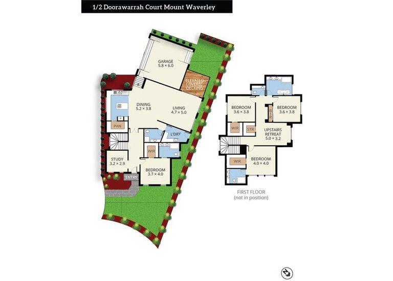 1 / 2  Doorawarrah Court, Mount Waverley
