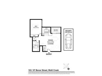 103 / 97 Bonar Street, Wolli Creek