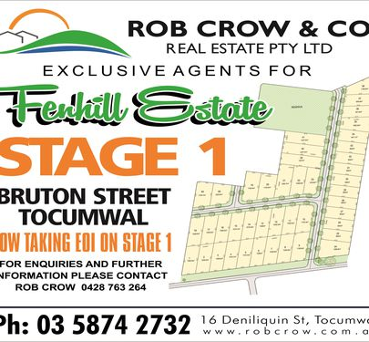 Lot 1, Bruton Street, Tocumwal