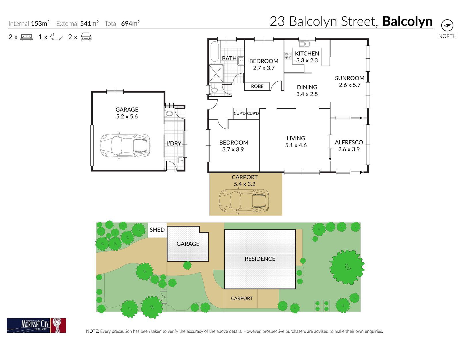 23 Balcolyn Street, Balcolyn