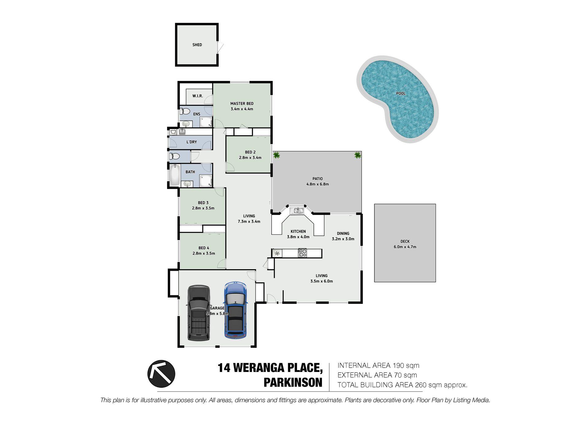 14 Weranga Place, Parkinson