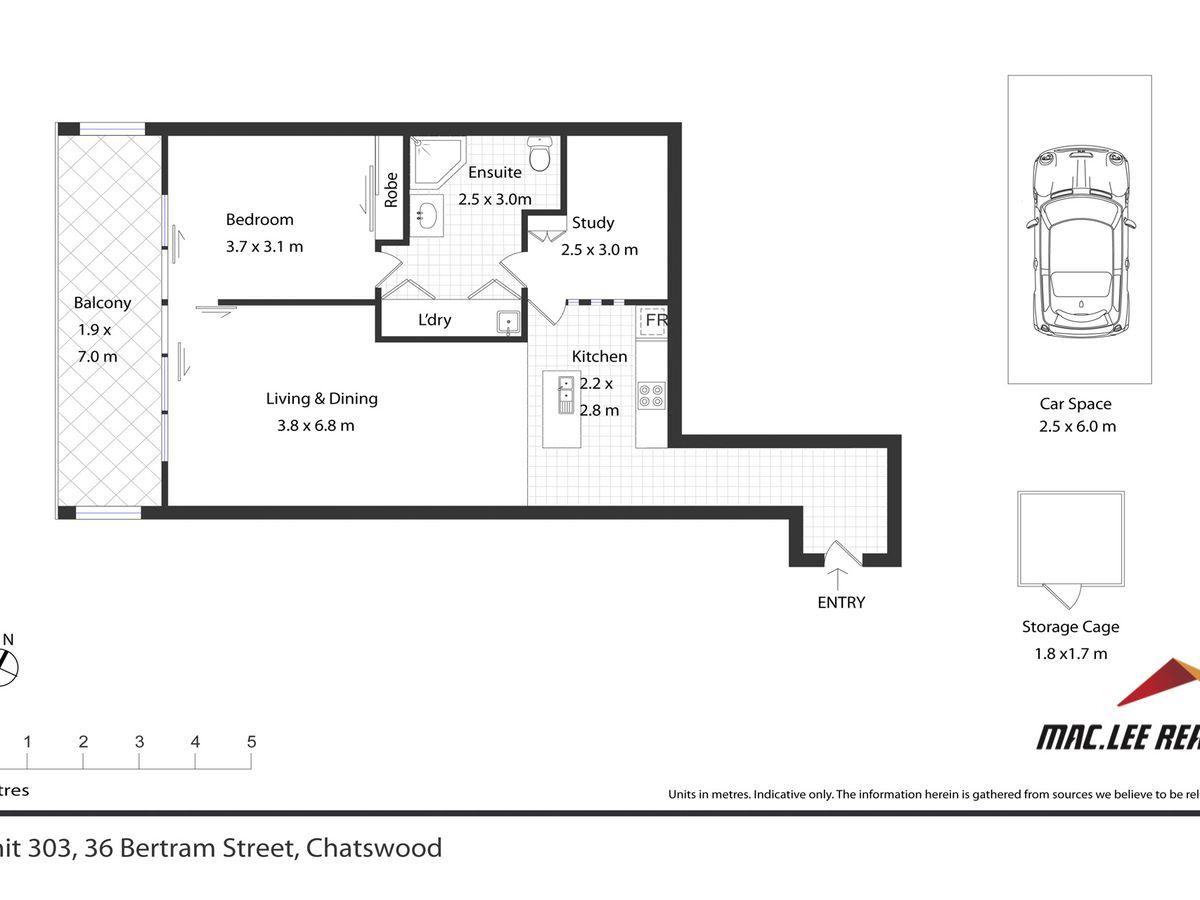 303 / 36 Bertram Street, Chatswood
