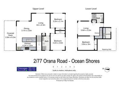 2 / 77 Orana Road, Ocean Shores