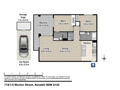 712 / 1-5 Weston Street, Rosehill