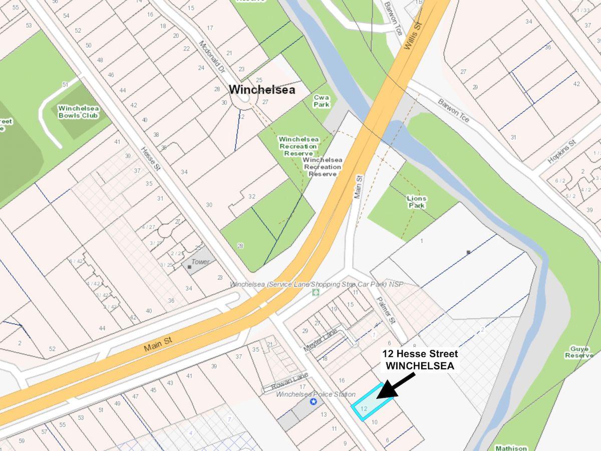 12 HESSE STREET, Winchelsea