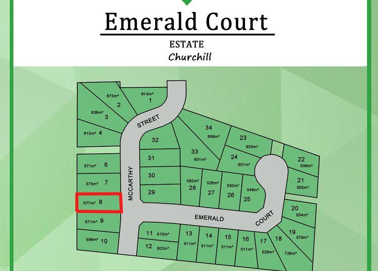 Lot 8, 43 McCarthy  Street (Emerald Court Estate), Churchill