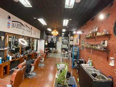 Barber Shop with Cafe Business For Sale Brunswick