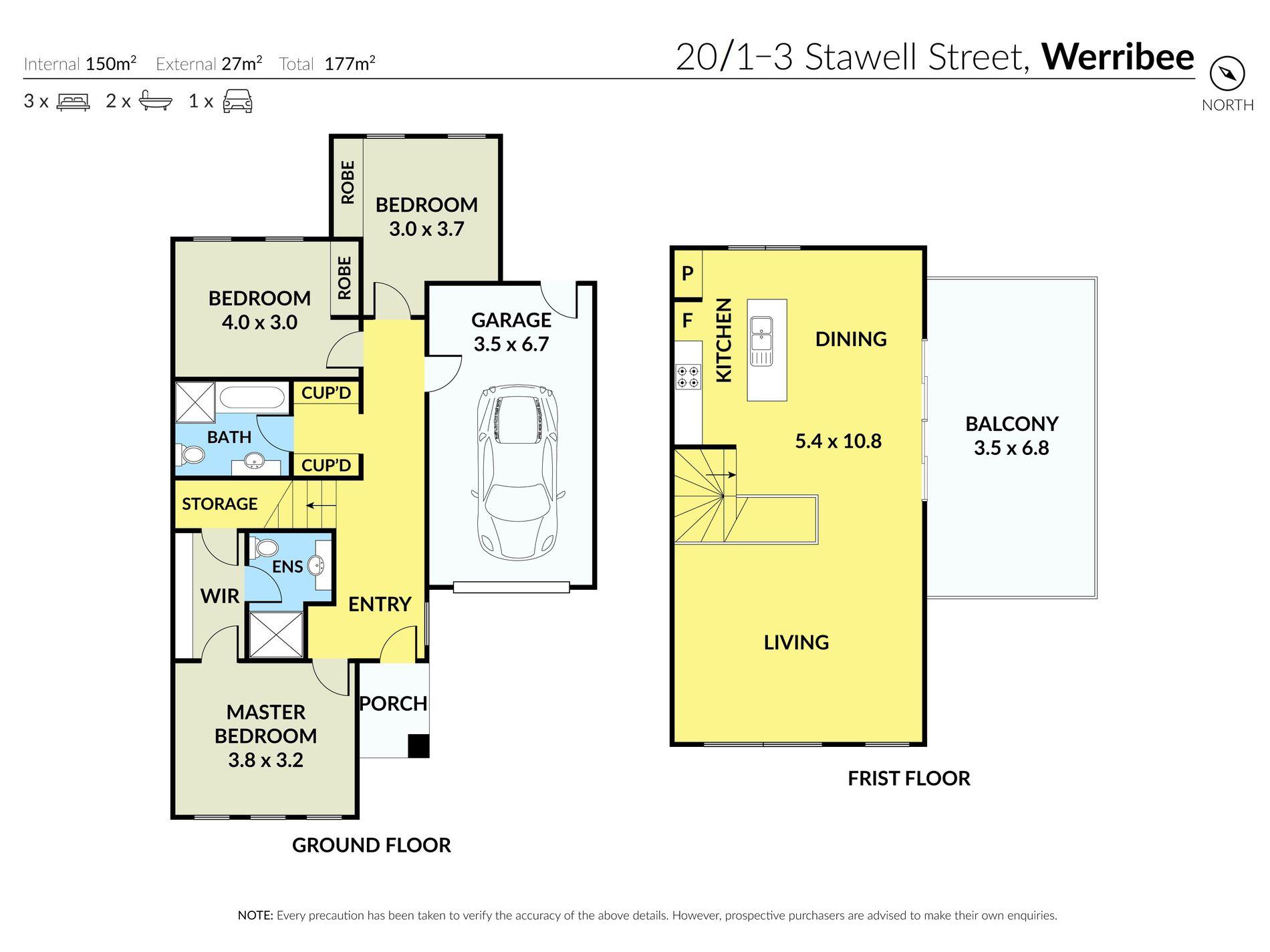 20 / 1-3 Stawell Street, Werribee