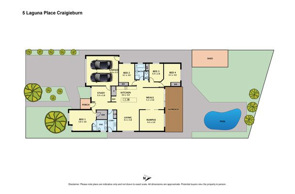 5  Laguna Place , Craigieburn