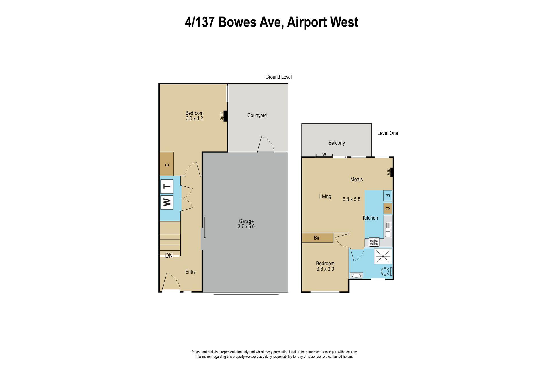 4 / 137 Bowes Avenue, Airport West