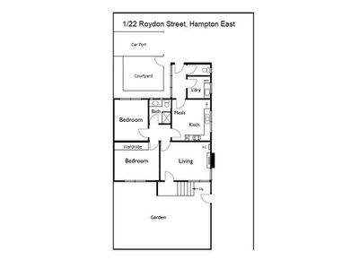 1 / 22 Roydon Street, Hampton East