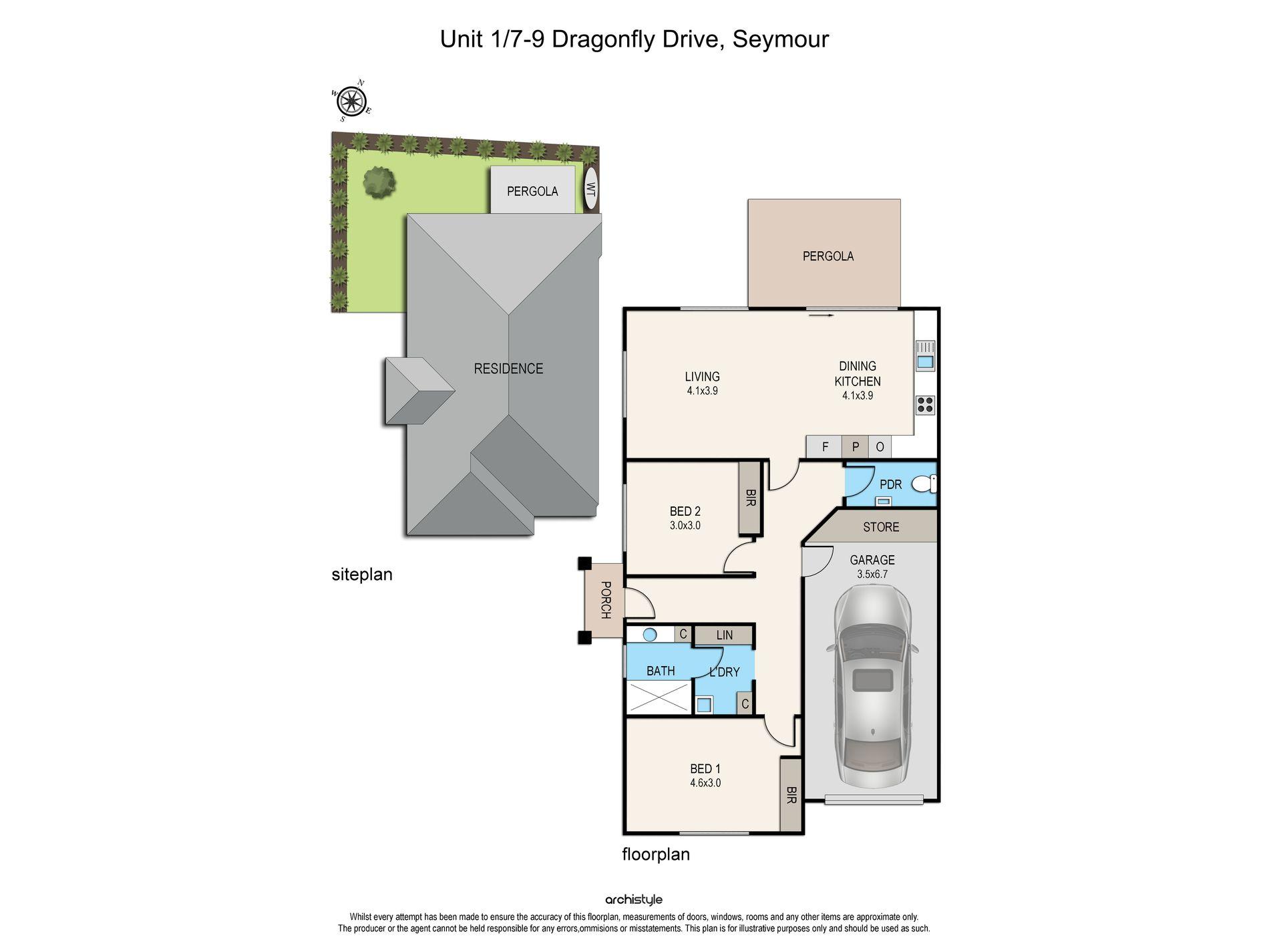 Unit 1 / 7 Dragonfly Drive, Seymour