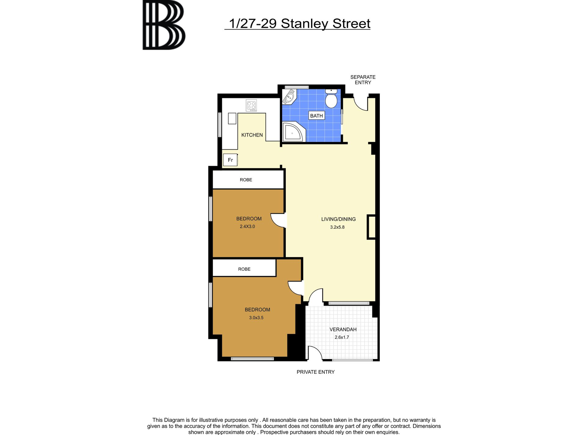 1 / 27-29 Stanley Street, Darlinghurst
