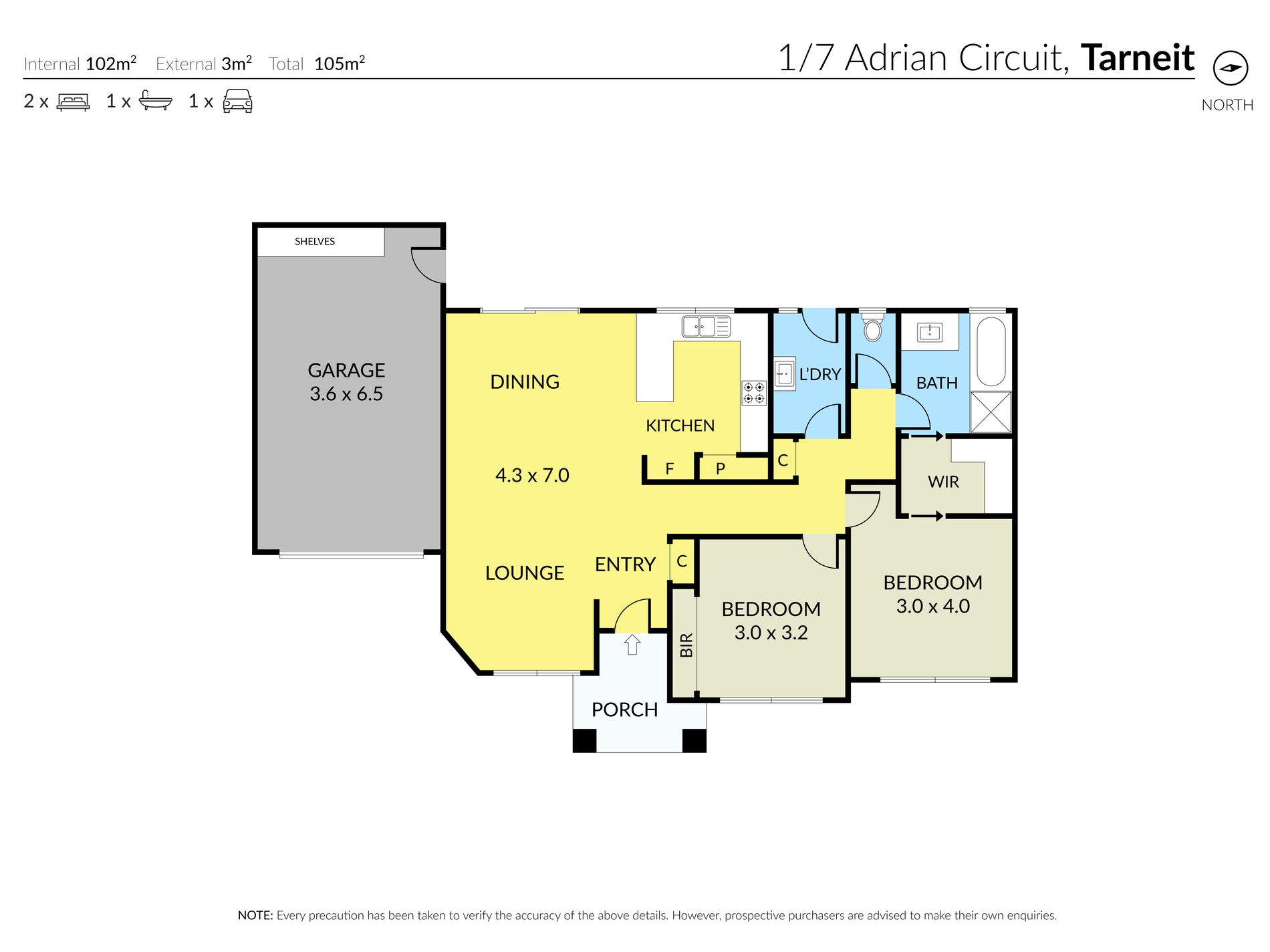 1 / 7 Adrian Circuit, Tarneit