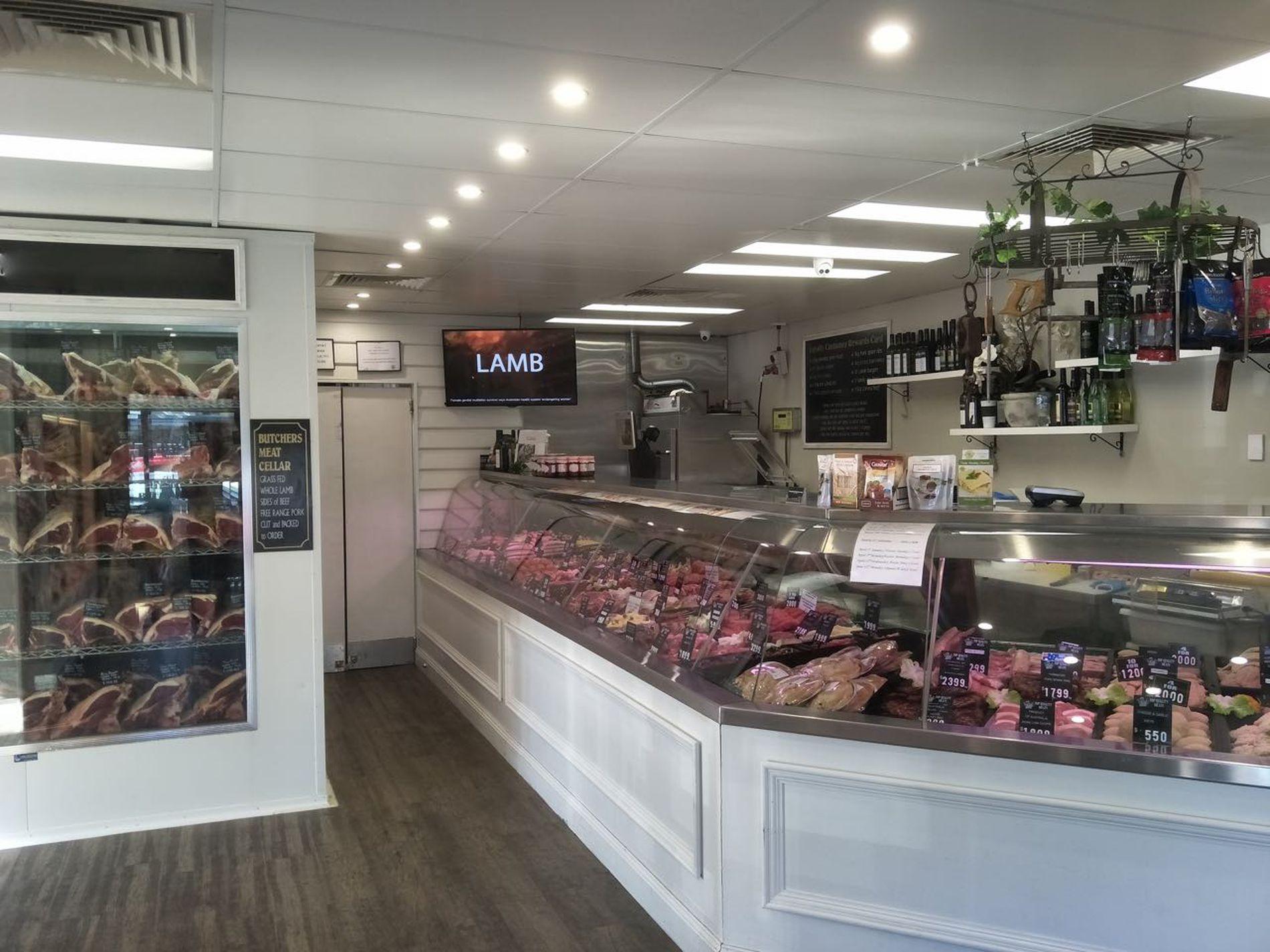 Butcher shop for sale