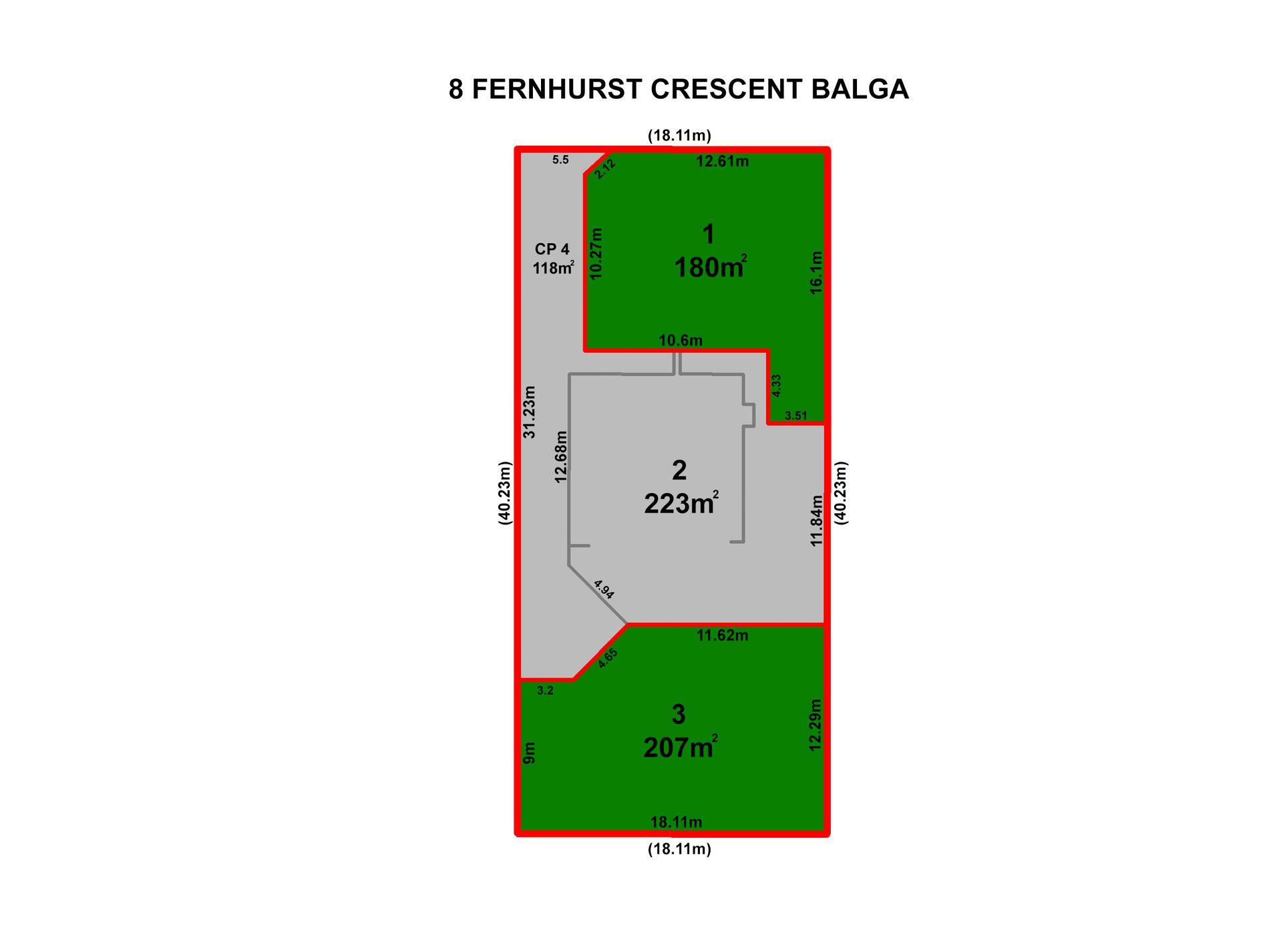 Lot 3, 8 Fernhurst Crescent, Balga