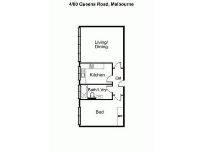 4 / 80 Queens Road, Melbourne