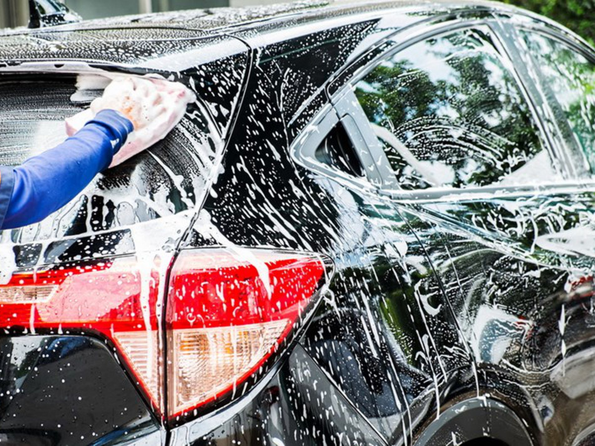 Hand Car Wash Business for Sale, run by staff