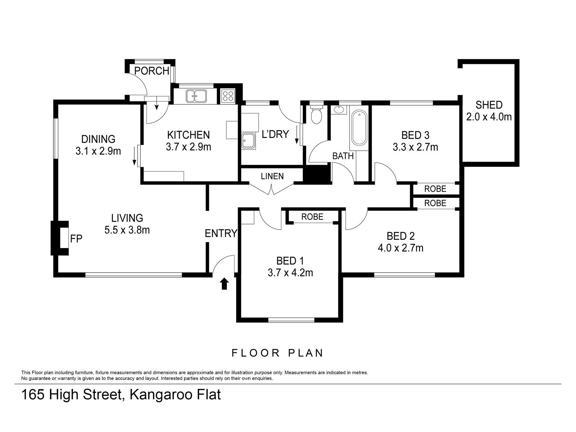 165 High Street, Kangaroo Flat