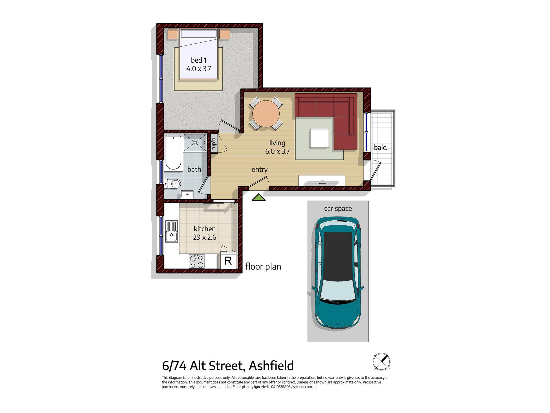 6 / 74 Alt Street, Ashfield