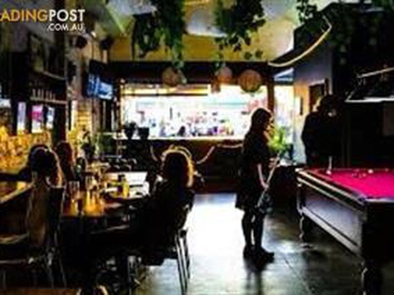 Bar and Live Music Venue Business for Sale