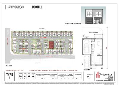 TH 71 / 47 Hynds Road (Proposed address), Box Hill