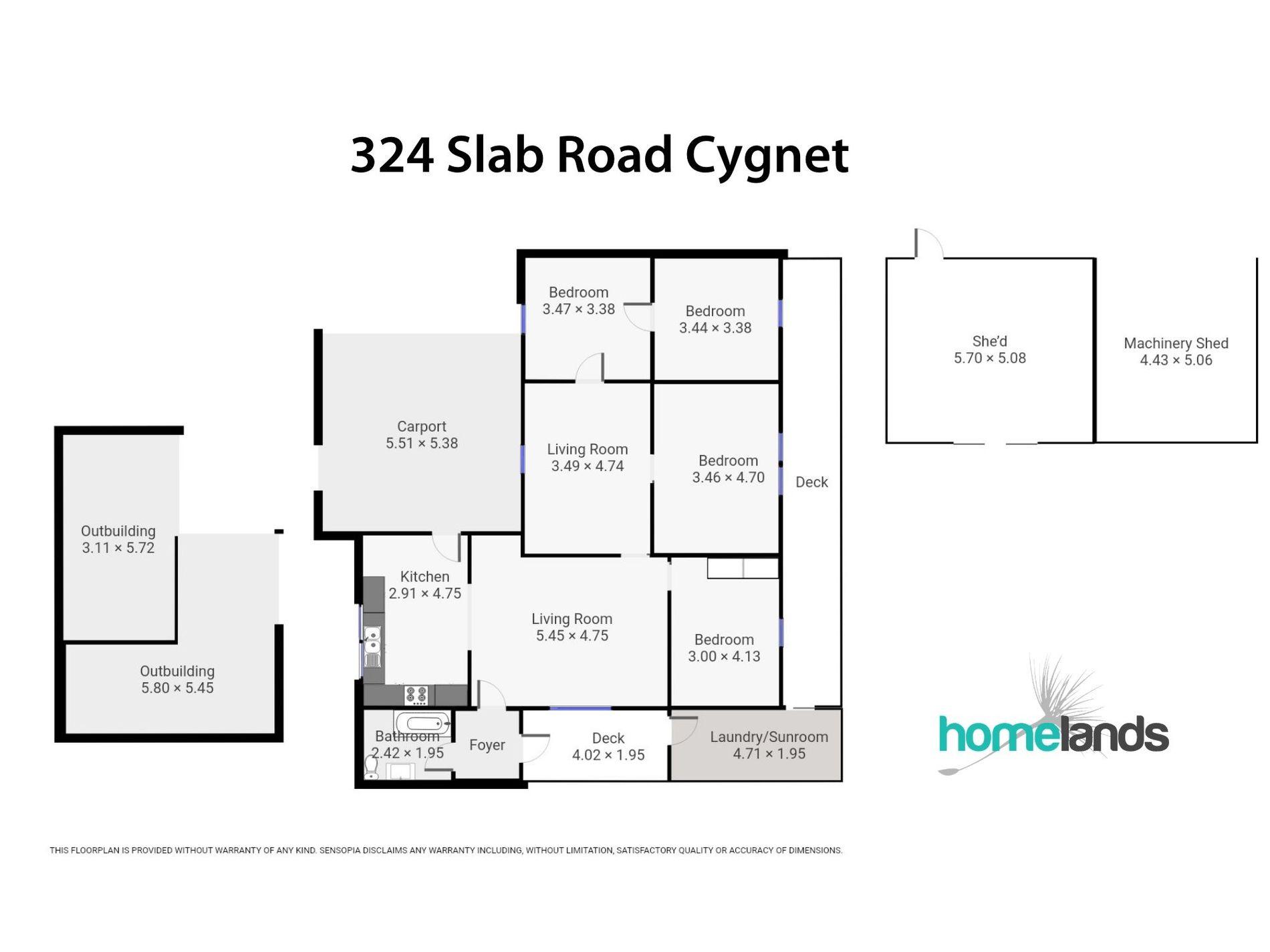 324 Slab Road, Cygnet