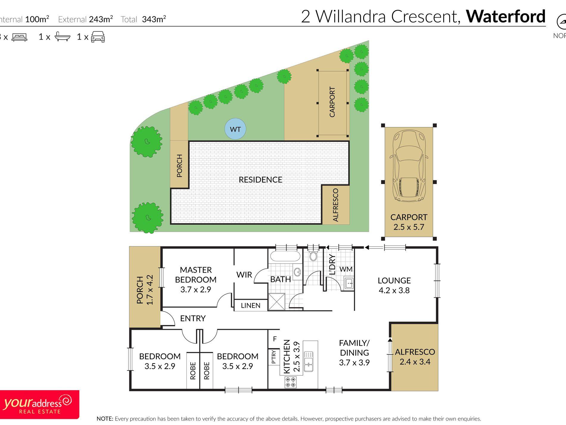 2 Willandra Crescent, Waterford