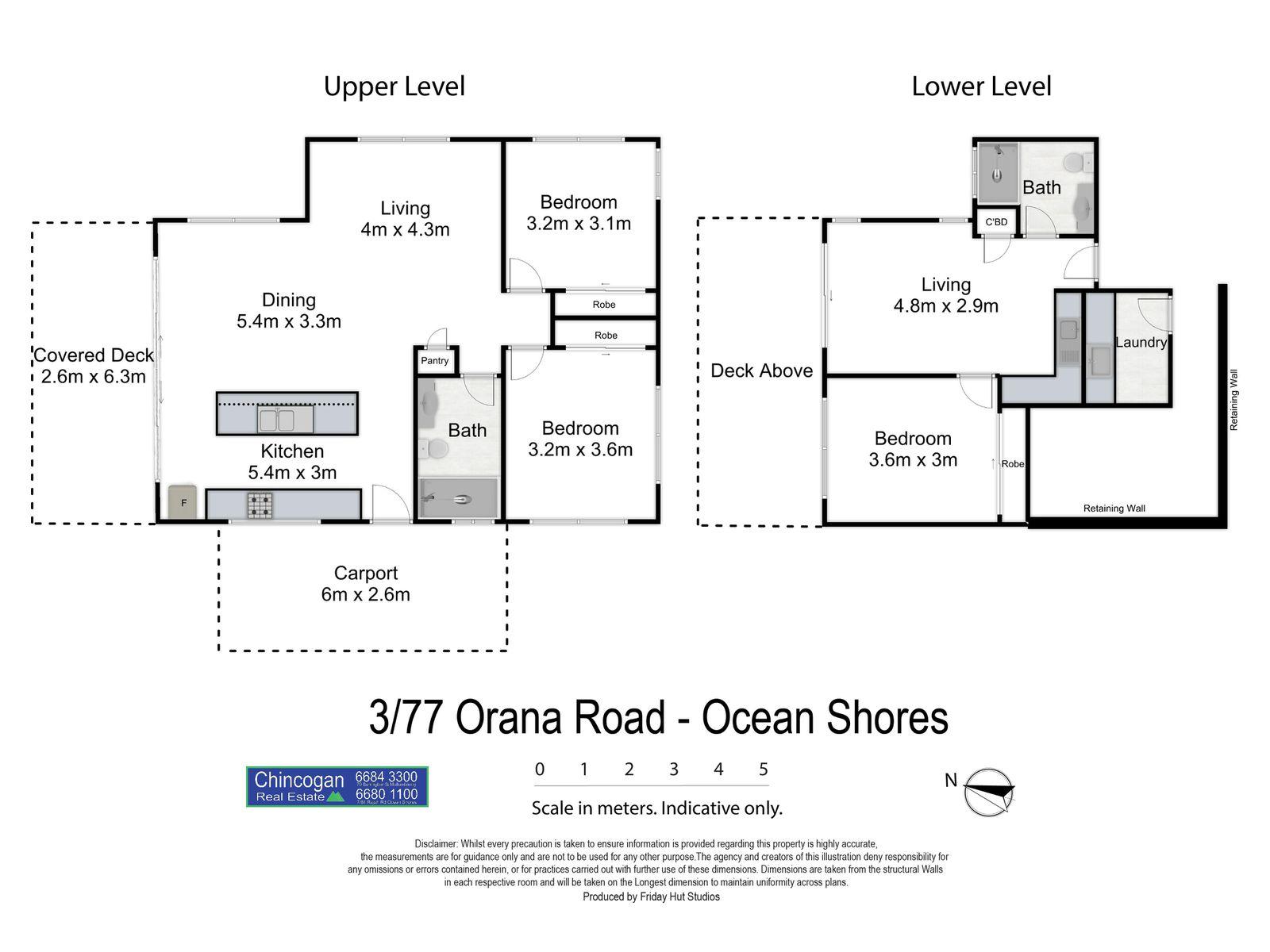 3 / 77 Orana Road, Ocean Shores