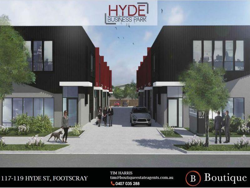 Units 1-10 / 117-119 Hyde Street, Yarraville