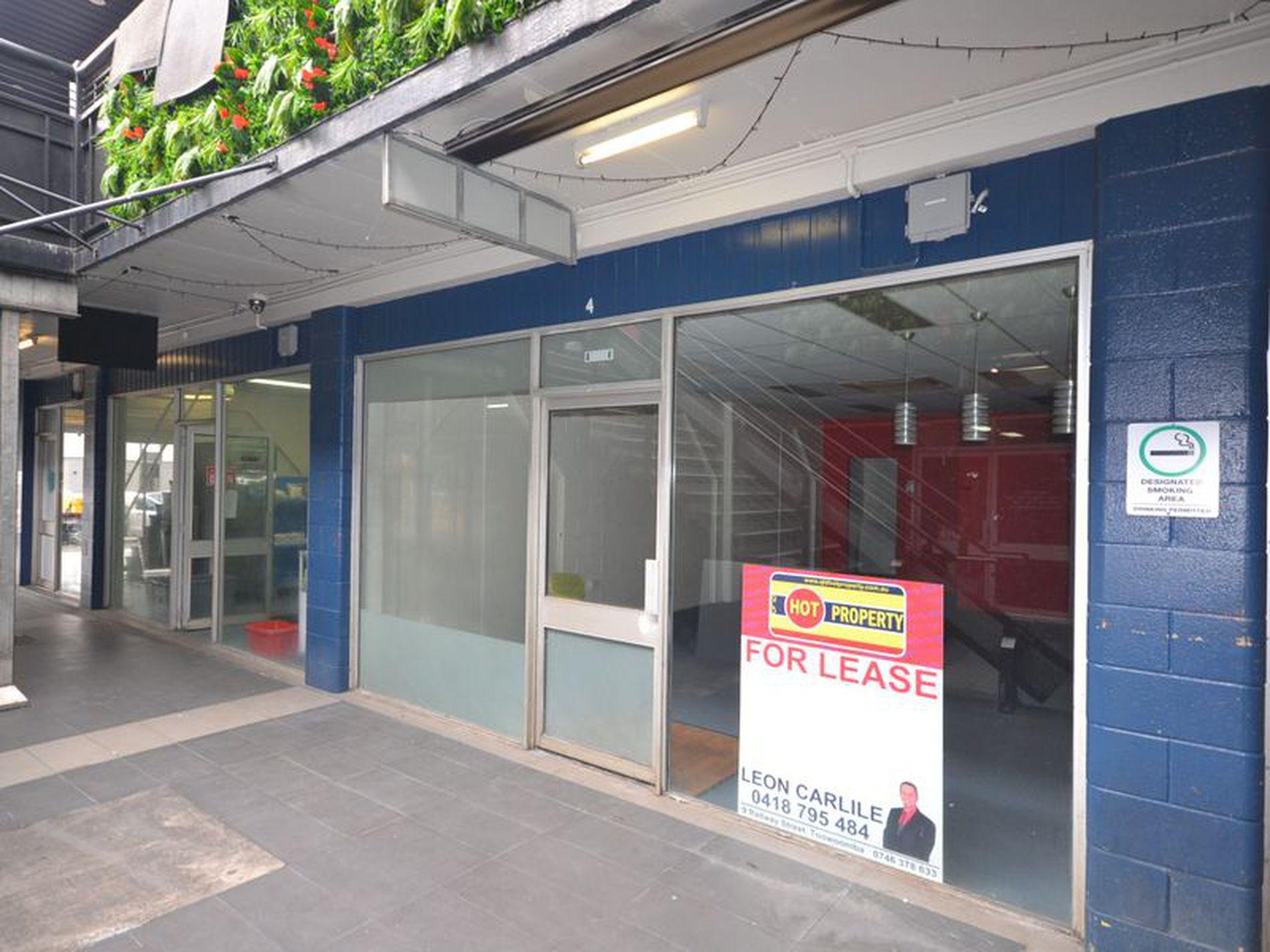 Shop 4 / 12 Russell Street, Toowoomba City