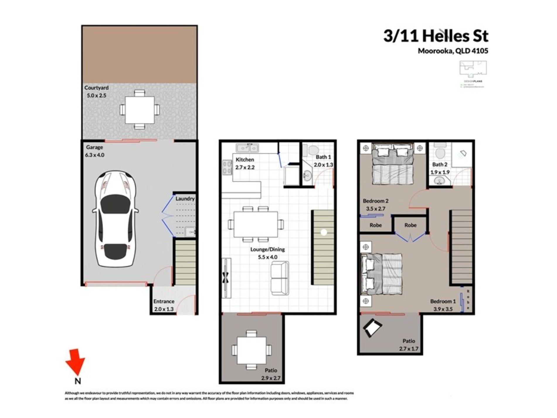 3 / 11 Helles Street, Moorooka