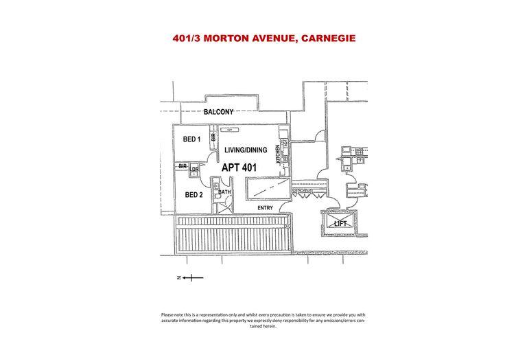 401 / 3 MORTON AVENUE, Carnegie