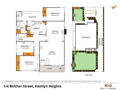 1 / 4 BELCHER STREET, Hamlyn Heights