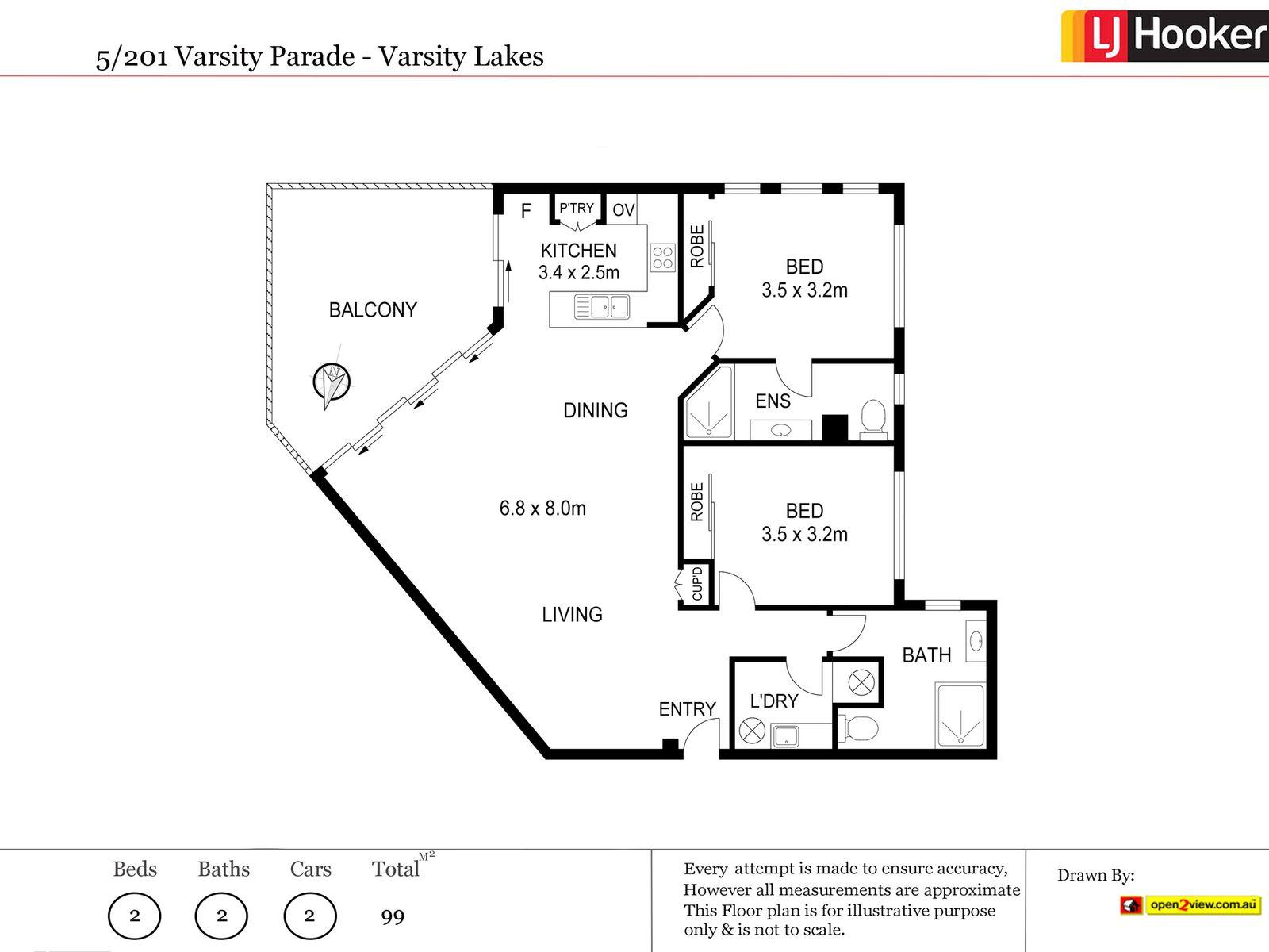 201 VARSITY PARADE, Varsity Lakes