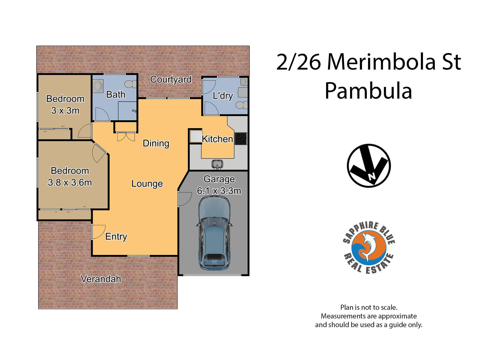 2 / 28 Merimbola Street, Pambula